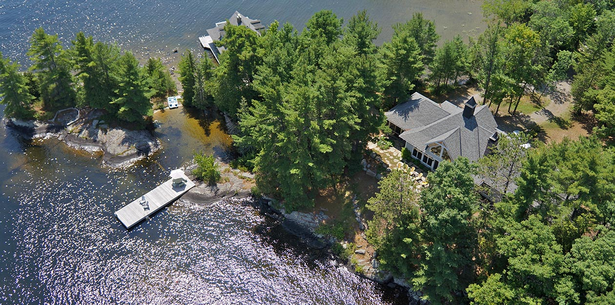NOW SOLD! Classic Muskoka Cottage & Boathouse - Virtual Tour